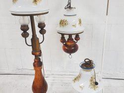 Scheepslamp/ Staand lamp (orliens line/ FLA, product 1870)