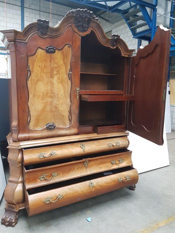 kabinet buikkast hollands mahonie