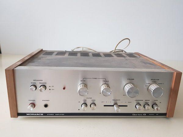 Vintage Monarch Stereo Amplifier Model 80 Tuner
