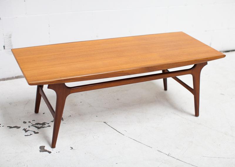 Salontafel Scandinavisch Design : Vintage wébé scandinavische salontafel design teak salontafel