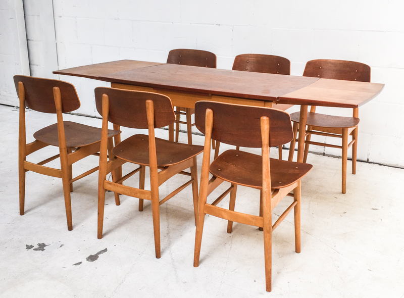 Prijs Thonet Stoel : Cees braakman voor pastoe eettafel met stoelen prijs eur