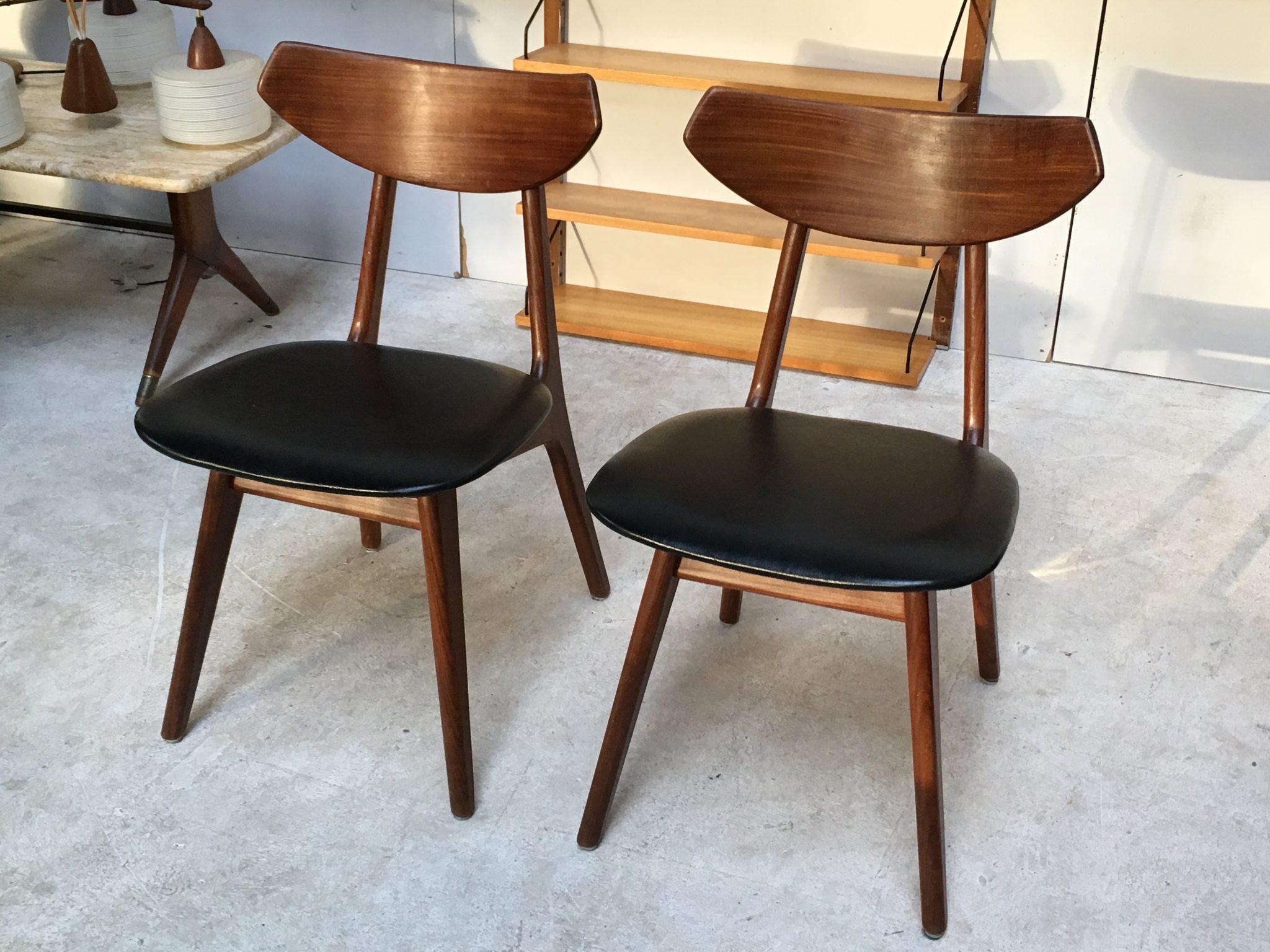Jaren 50 Stoel : Vintage hans wegner stoelen jaren 50 » vintage design webshop